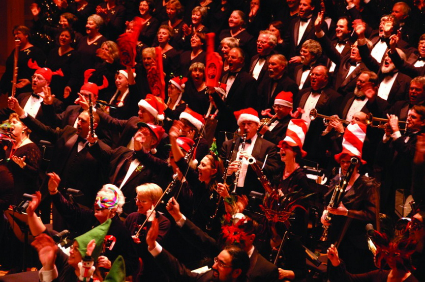 """The Portland Symphony Orchestra presents """"The Magic of Christmas"""" at Merrill Auditorium from Friday through Dec. 22."""