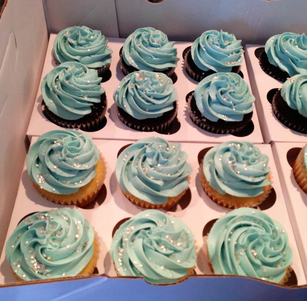 Vegan cupcakes by Clothespin Baking Co.