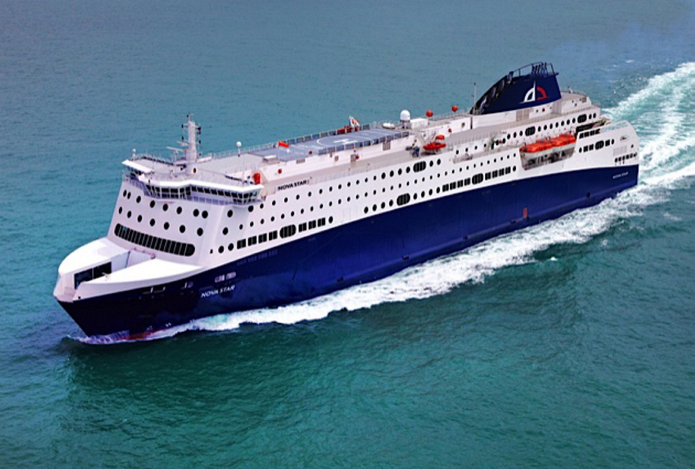 The Nova Star will take passengers between Portland and Yarmouth, Nova Scotia. The 528-foot vessel will offer amenities not previously available on ferries traveling this route.