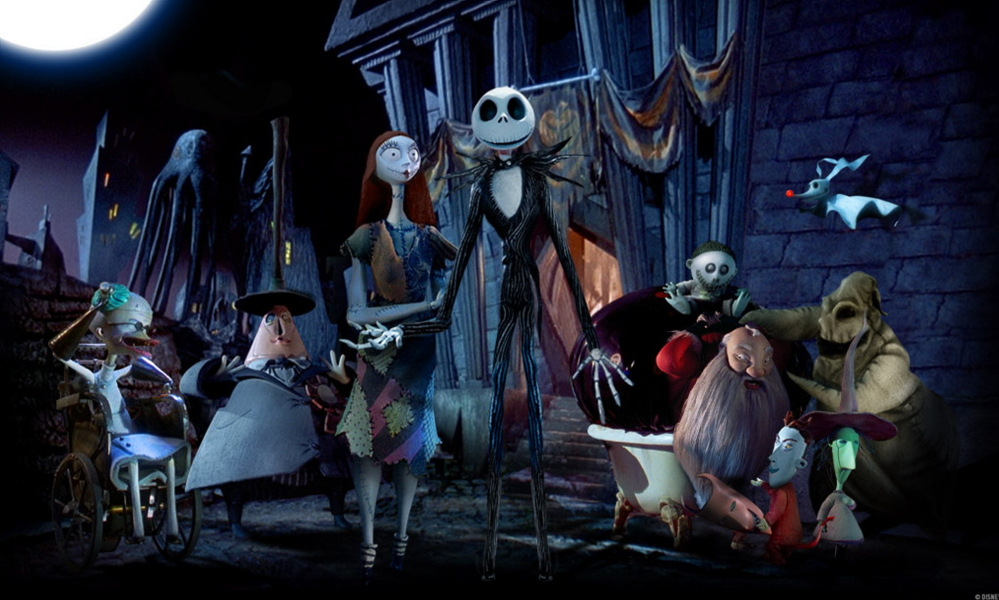 """""""The Nightmare Before Christmas"""" will be shown along with """"It's a Wonderful Life"""" at the State Theatre in Portland on Sunday."""