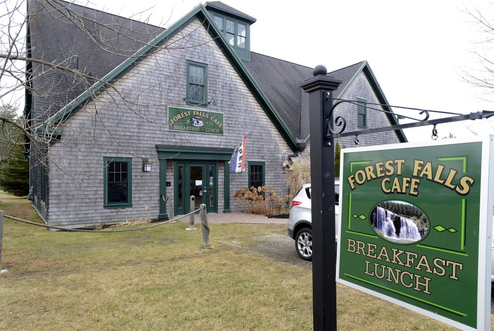 Forest Falls Cafe in Yarmouth.