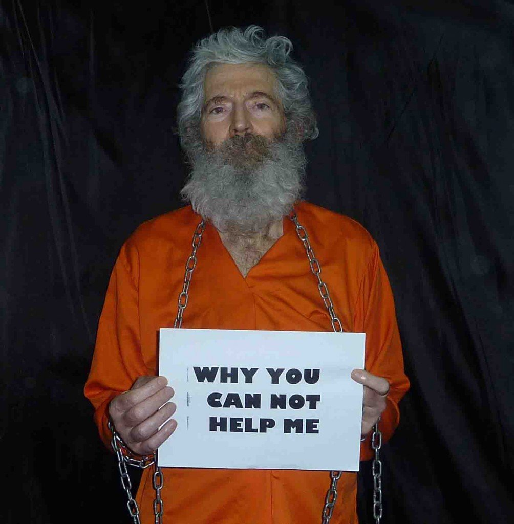 This undated handout photo provided by the family of Robert Levinson, shows retired-FBI agent Robert Levinson in a photo the family received in April 2011.