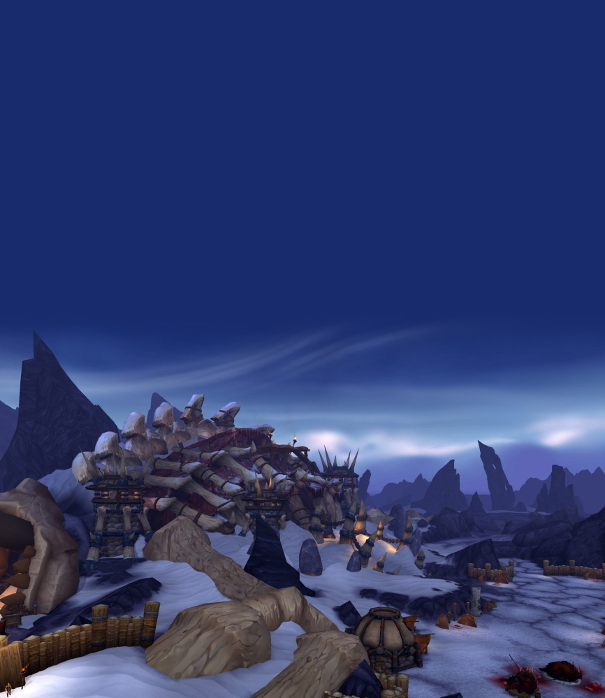 """A screen shot of the """"World of Warcraft."""""""
