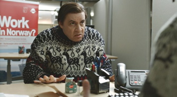 "Steven Van Zandt as an American ""ex-pat"" mobster living in Norway in ""Lilyhammer."""