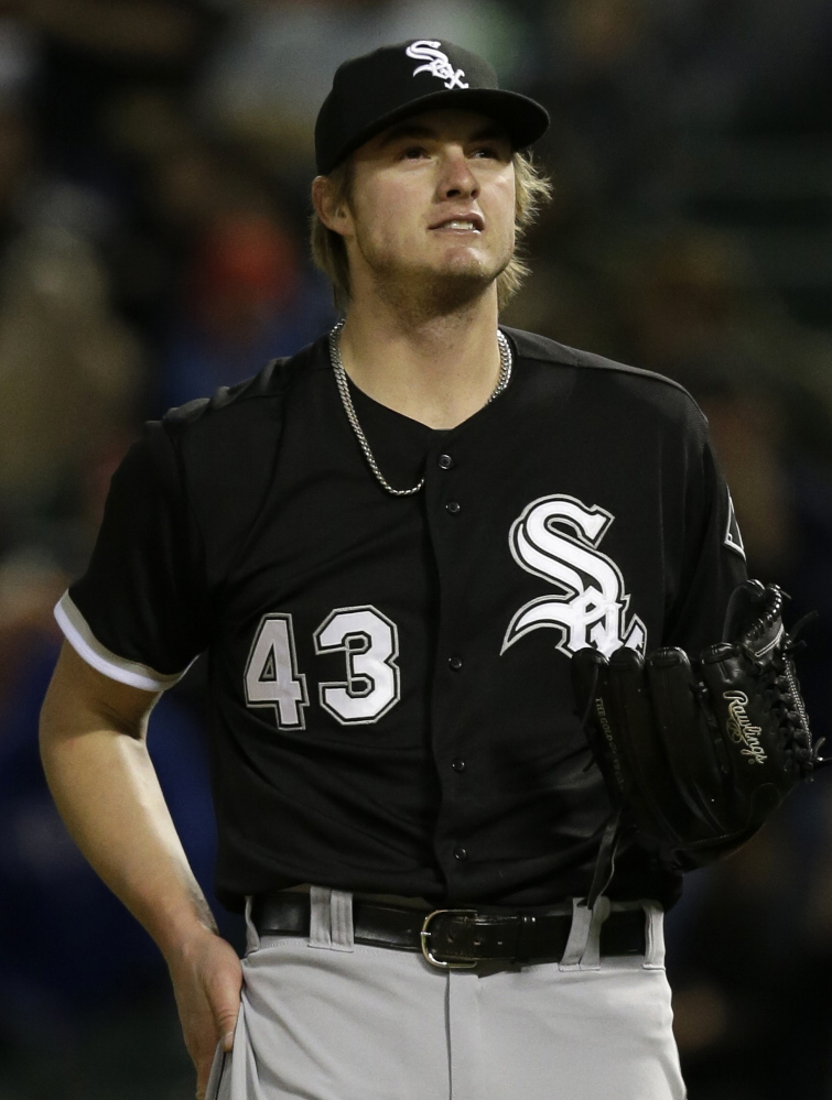 Right-hander Addison Reed appeared in 68 games with the White Sox last season, holding opponents to a .215 batting average.