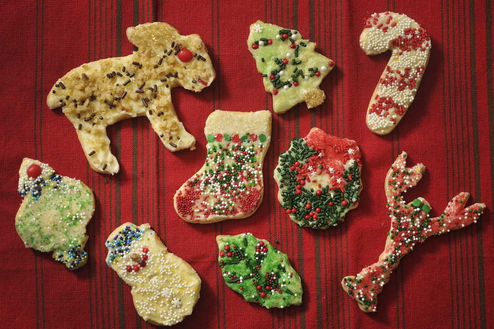 Auntie Anna's Sugar Cookies with Orange Frosting by Donna Speirs of Kennebunk.