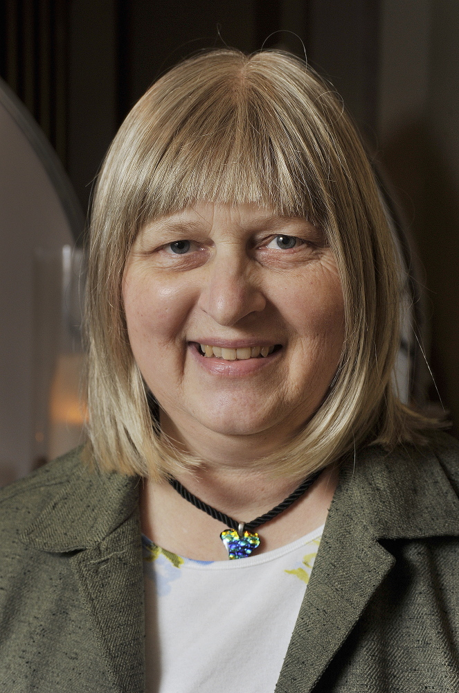 Carol Marshburn of Gorham made Lebkuchen for the contest.