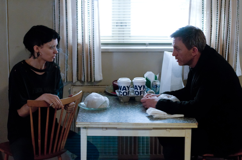 """Rooney Mara and Daniel Craig starred in the American film version of """"The Girl With The Dragon Tattoo."""" An author has been hired to write a fourth book in the series."""