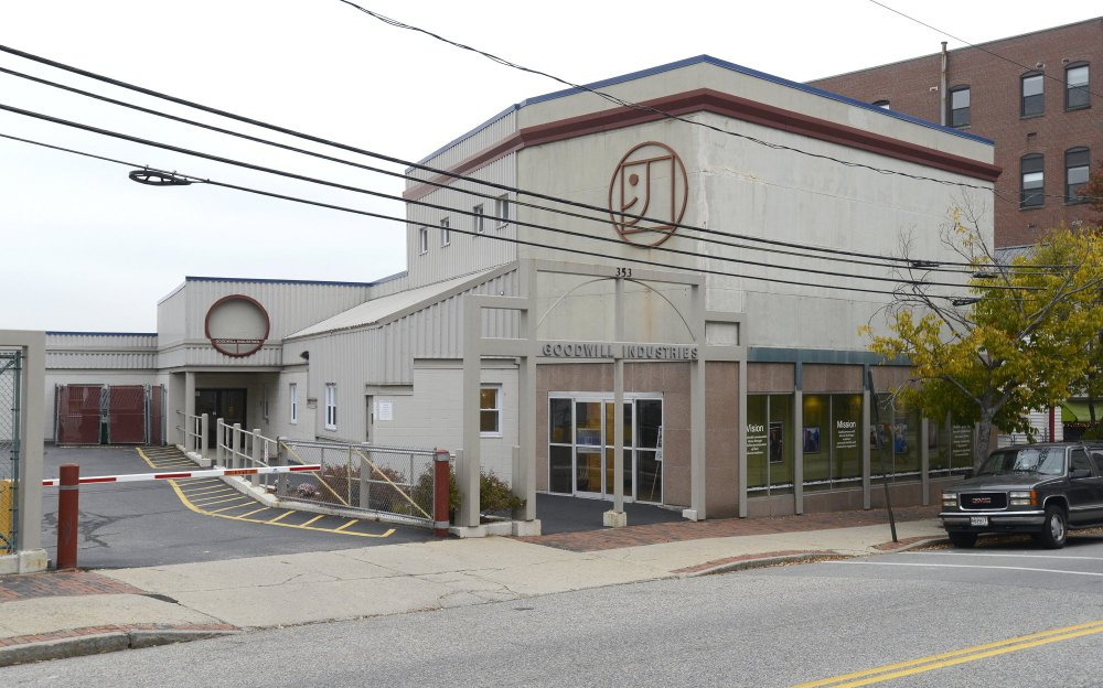 The school superintendent says buying the former Goodwill building, above, at 353 Cumberland Ave. will allow better access to programs. The central office's move there from 196 Allen Ave. also will leave room for expanding Casco Bay High School.