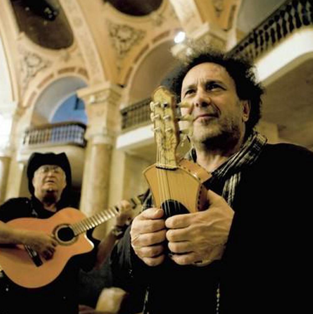"Enzo Avitabile, right, in ""Music Life."""