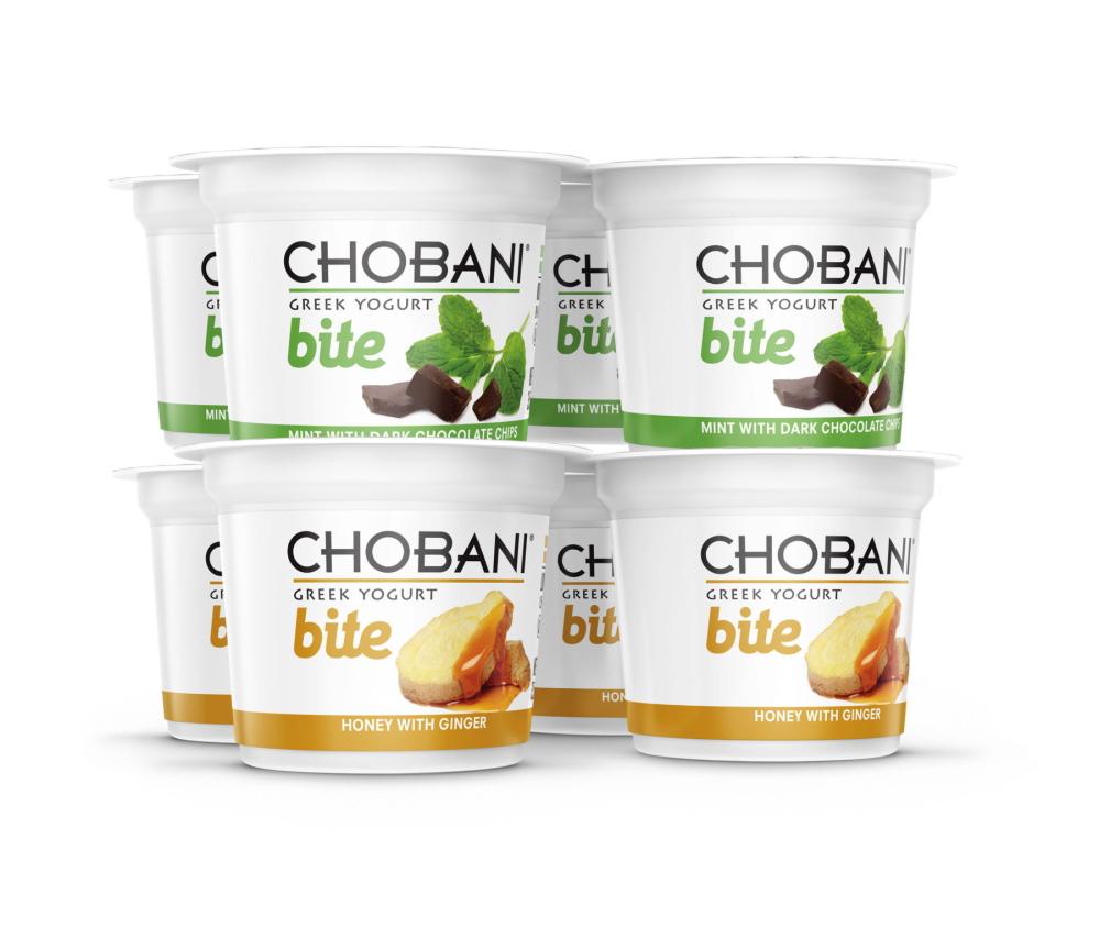 Chobani photo Containers of Chobani's Bite Greek Yogurt. Greek yogurt now accounts for more than a third of the U.S. yogurt market, and Chobani is the top Greek yogurt brand.
