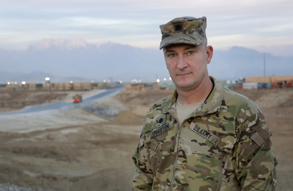 """Lt. Col. Dean Preston of Pembroke says, """"It's amazing to experience in my lifetime. Just to see that change in equipment and capability."""""""