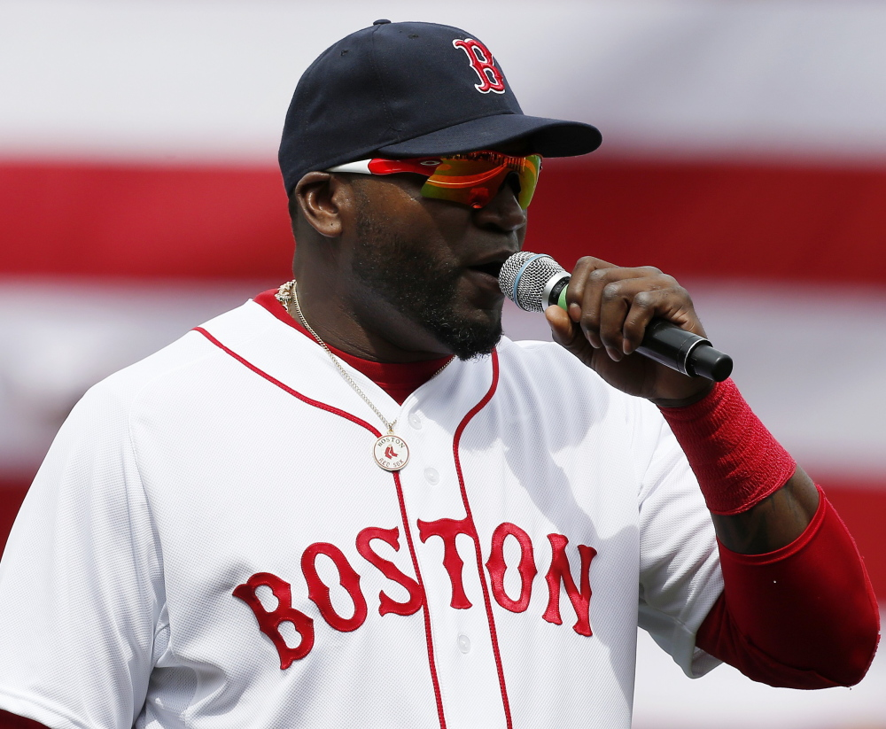 David Ortiz has done so much for the Boston Red Sox, it's hard to see him entering his yearly contract complaint. But it just may have a purpose.