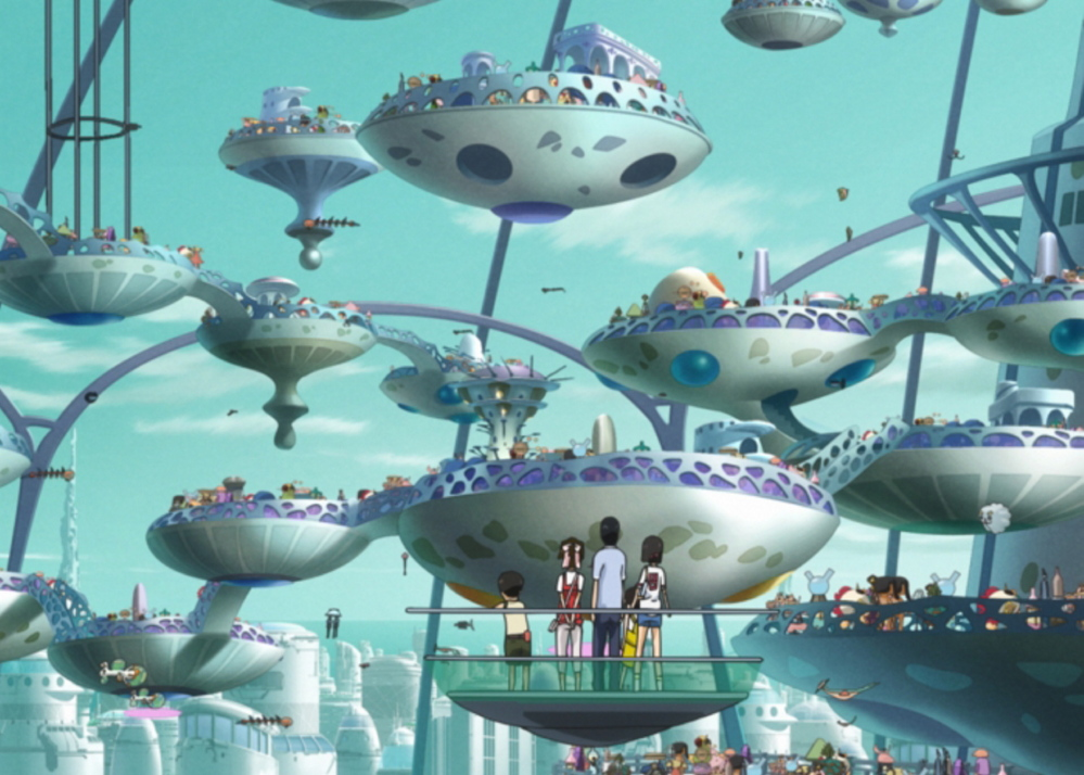 """""""Welcome to The Space Show,"""" a Japanese animated feature film, will be shown in a family event at Space Gallery in Portland at 9:30 a.m. Saturday."""
