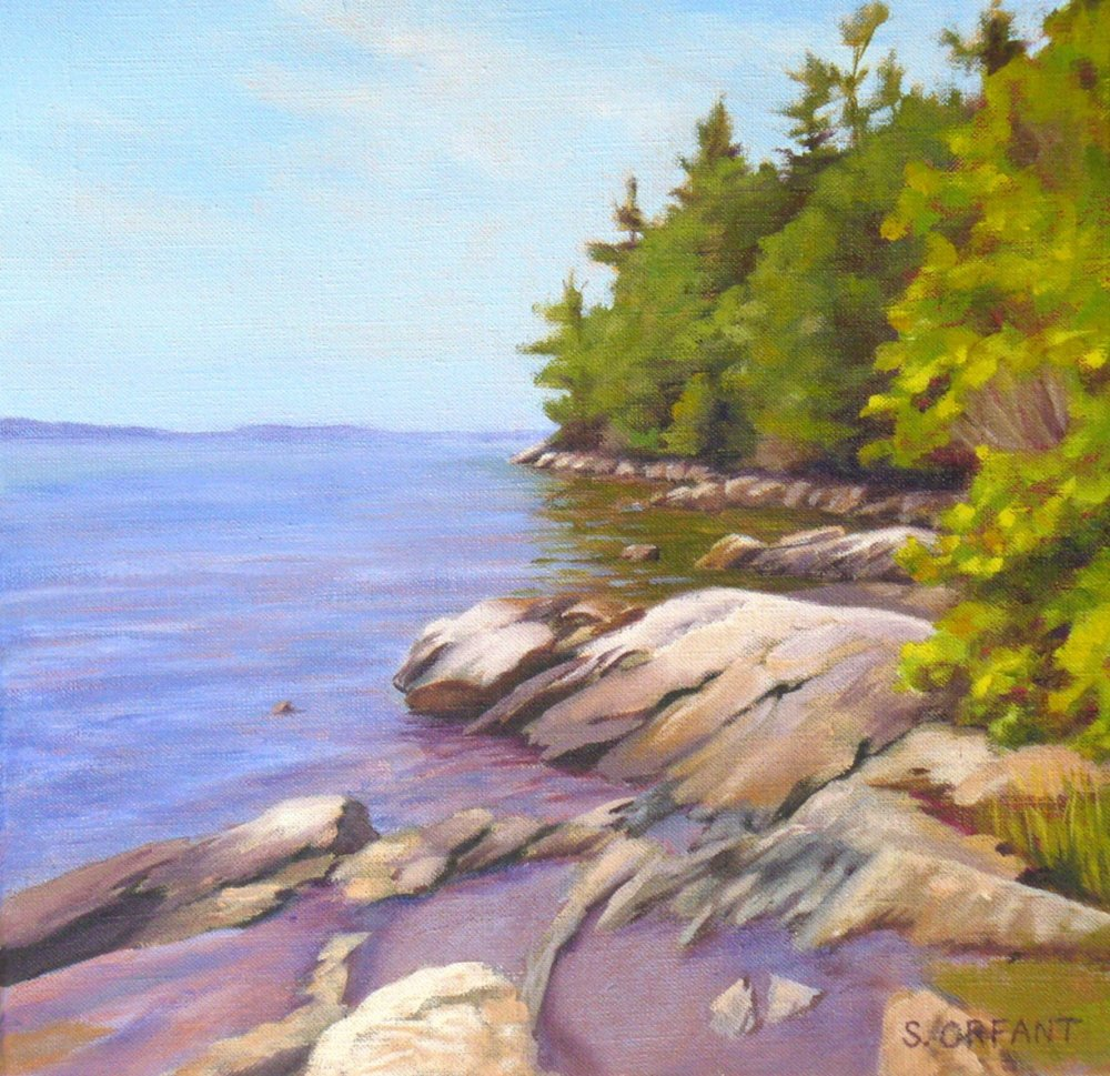 """""""Tidepools at Wolfe's Neck"""" by Susan Orfant"""