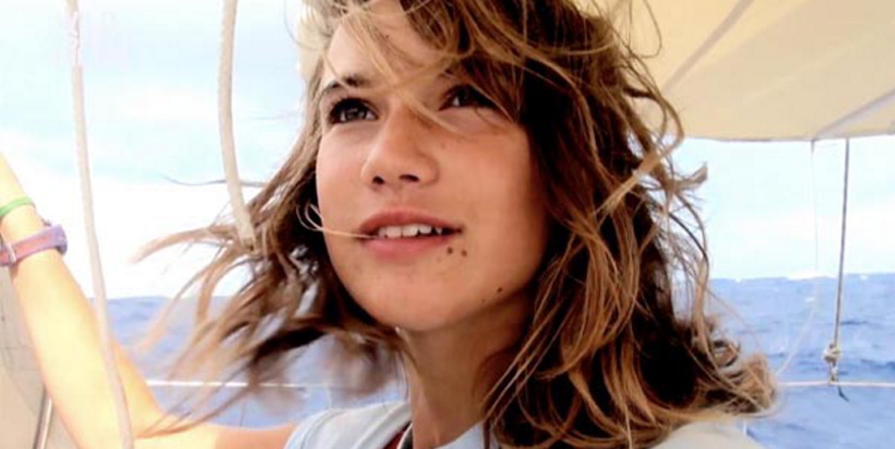 """Maidentrip"" tells the story of 14-year-old Laura Dekker's attempt to sail around the world."