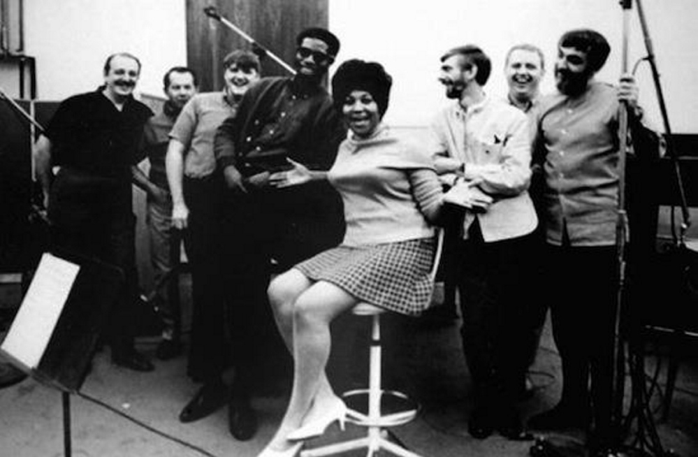 Aretha Franklin is among the many music legends to have sung with The Swampers at the Muscle Shoals Sound Studio.