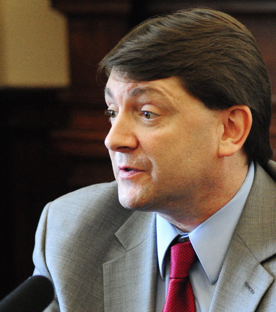 Sen. Troy Jackson, D-Allagash, was the target of the governor's ire – and an infamous crude comment – in June.
