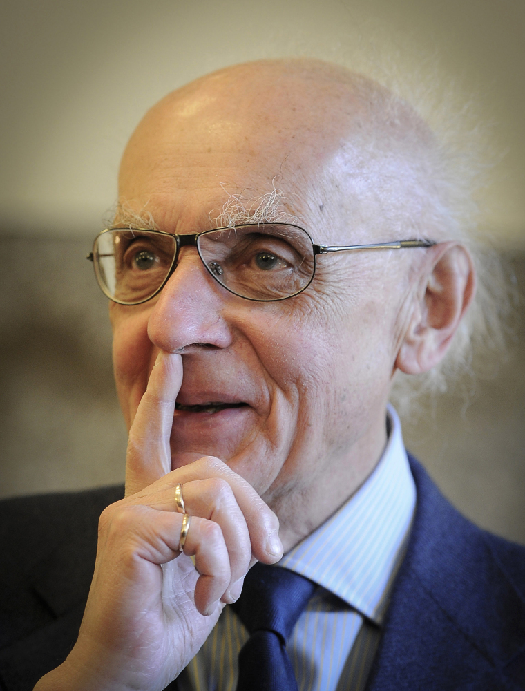 "Polish pianist and composer Wojciech Kilar – photographed in Katowice, Poland, in May 2011 – wrote scores for numerous films including Roman Polanski's ""The Pianist"" and Francis Ford Coppola's ""Bram Stoker's Dracula."""