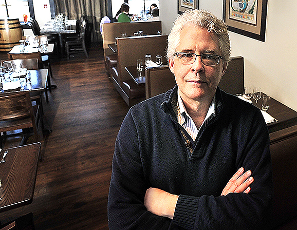 Tom Bard, owner of Zapoteca on Fore Street, is having trouble finding a space for a second restaurant in the Old Port because of high demand in the area. 979929