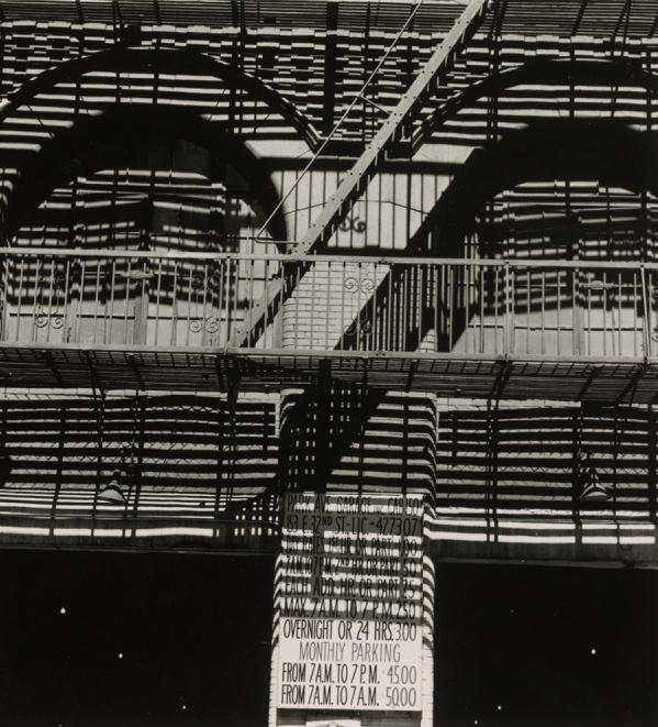 """""""Park Avenue Garage"""" by Ralph Steiner"""