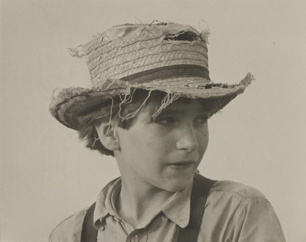 """""""Amish Boy"""" by George Tice"""