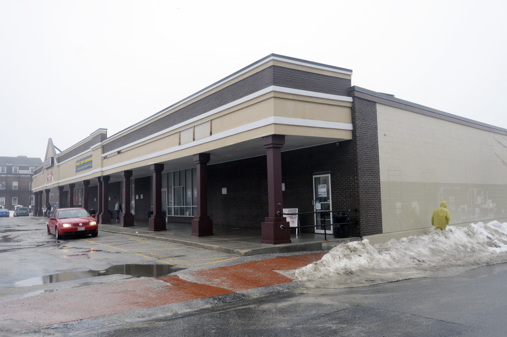 The building at 290 Congress St. is the future home for the Portland Food Co-op's full-service grocery store in Portland.