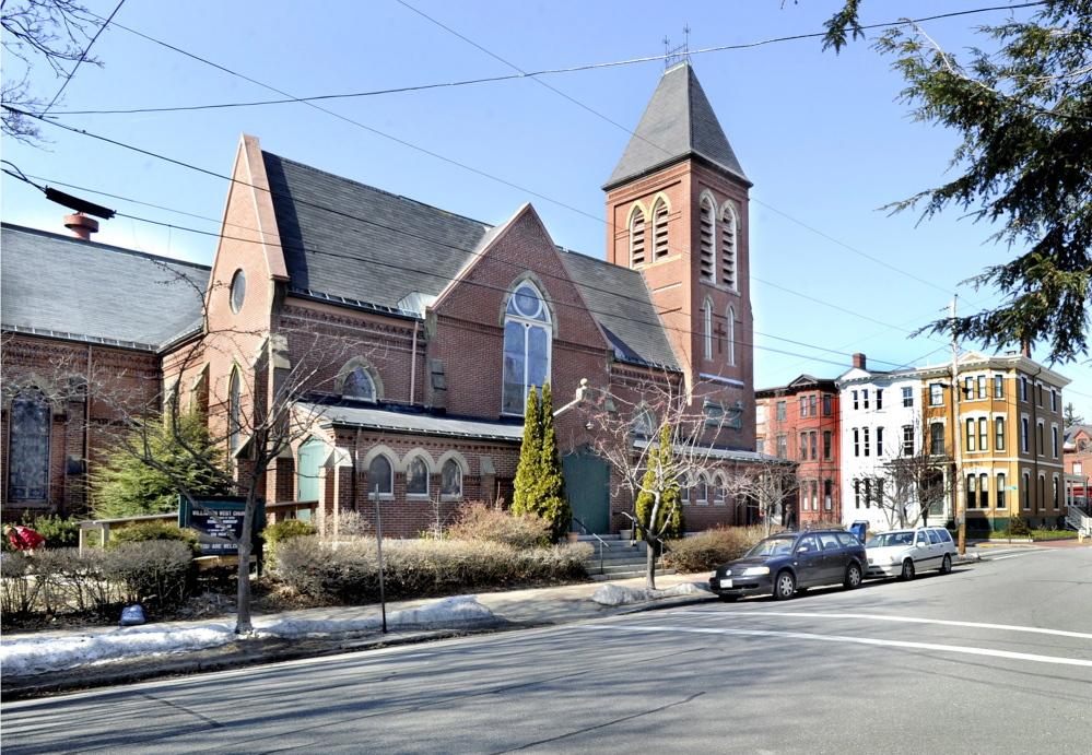 The Williston-West Church on Thomas Street in Portland.