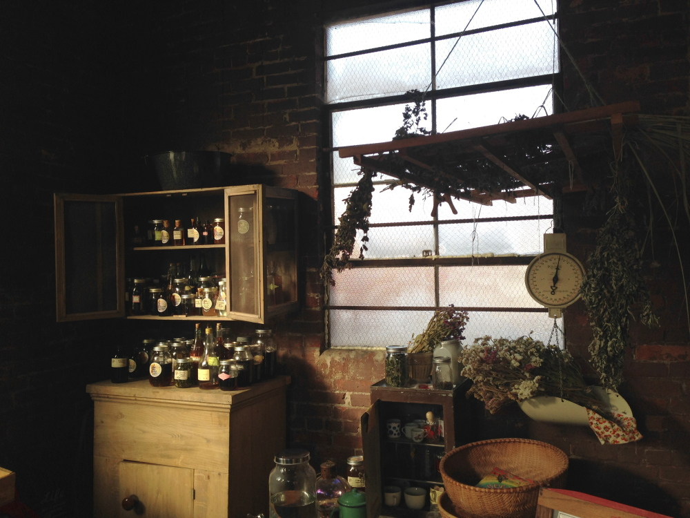 The Swallowtail Farm Cottage Apothecary, one of four food hub tenants, sells Maine-grown and wild-harvested dried herbs, tinctures and elixirs.