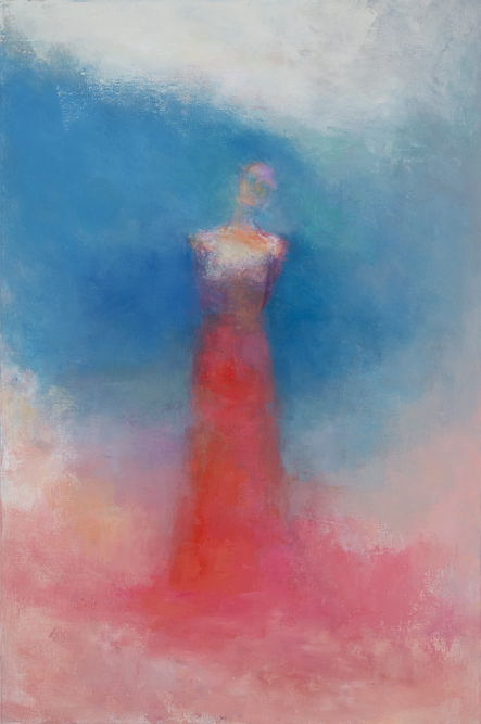 """""""Summer Muse"""" by Rachael Eastman is part of her """"Ocean Presence"""" exhibition at Aucocisco Galleries in Portland from Jan. 21 to Feb. 1."""