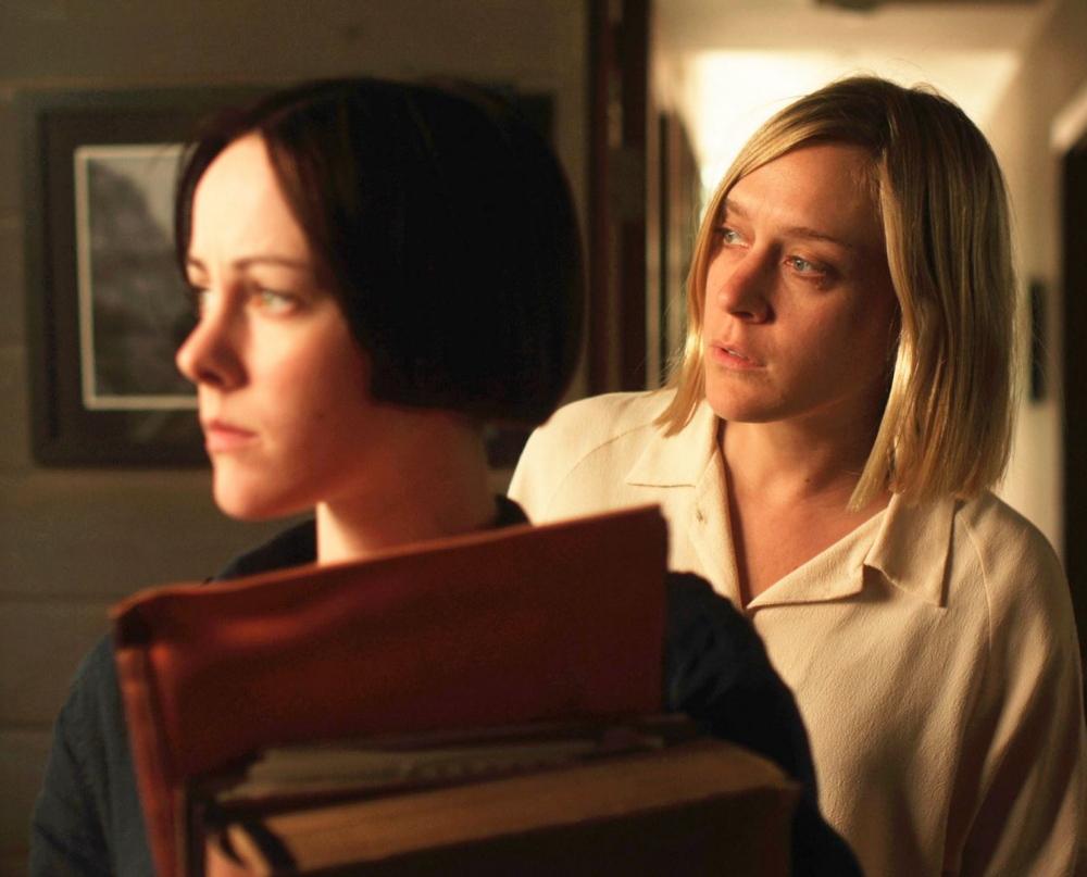 Jena Malone and Chloe Sevigny
