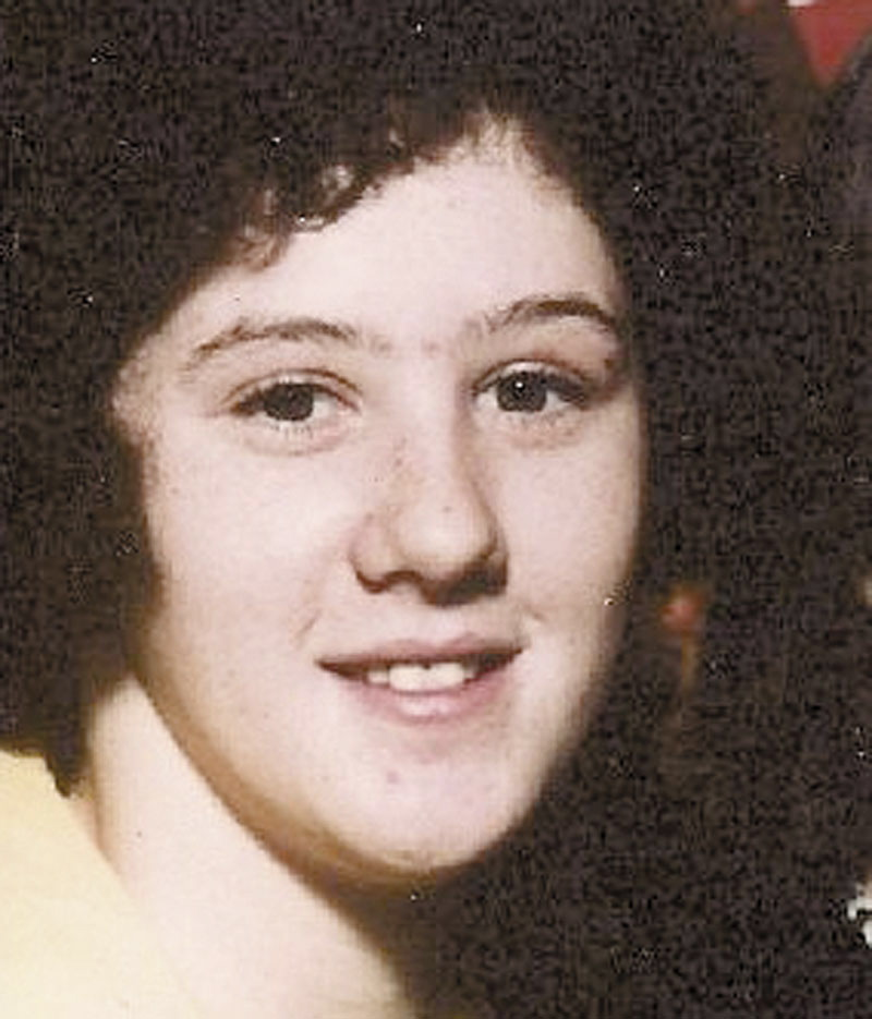 Rita St. Peter, shown in an undated photo, was 20 when her body was found off the Campground Road in Anson on July 5, 1980.