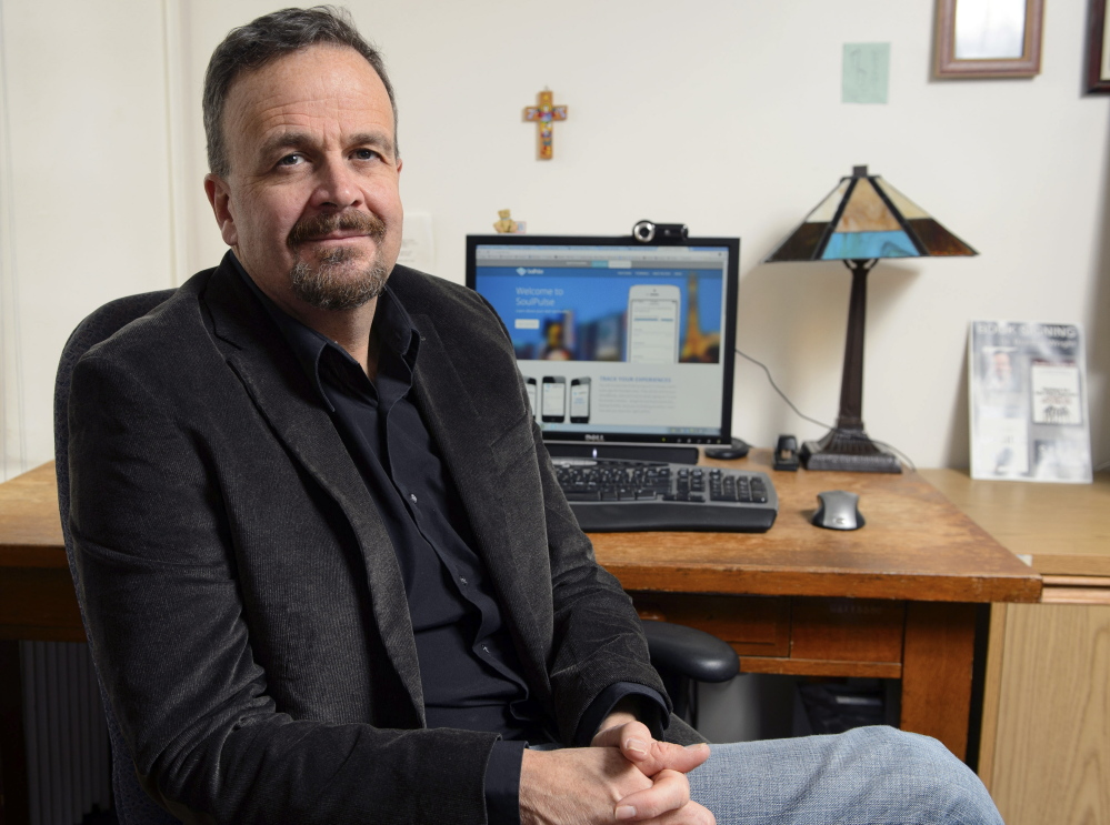 Bradley Wright, associate professor of sociology at the University of Connecticut in Storrs, is conducting a study of spirituality.