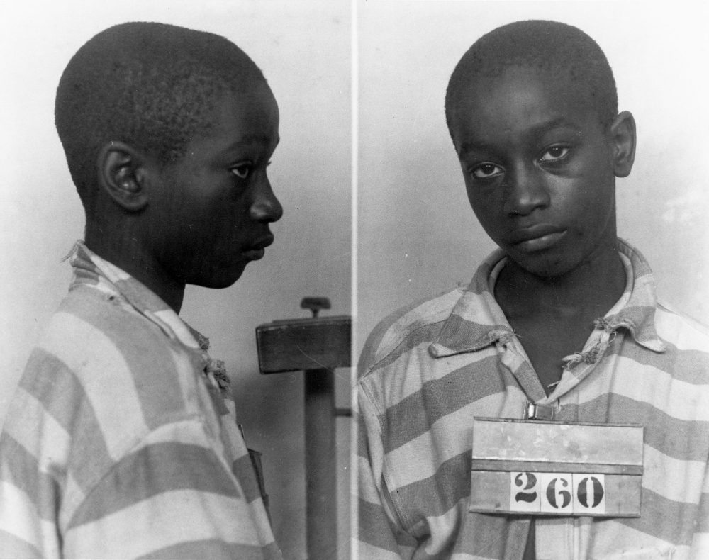 George Stinney Jr. is the youngest person ever executed in South Carolina. He was arrested, tried and executed in 1944 for killing two young white girls.