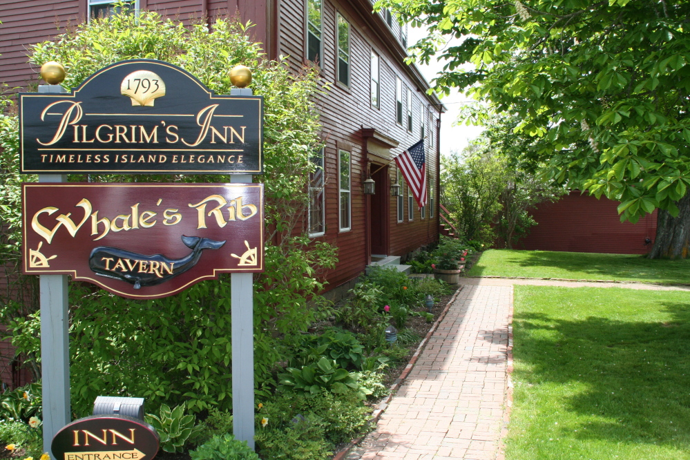 The menu at the Whale's Rib Tavern on Deer Isle is about 80 percent gluten-free.