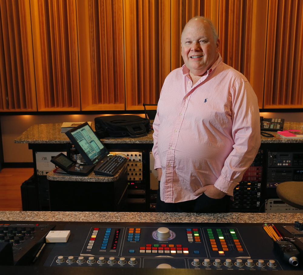 """Bob Ludwig has three Grammys under his belt so far. He won last year for """"Babel"""" by Mumford & Sons,"""" but a blizzard prevented him from attending. """"I could have been on stage for that one; I could have gotten a kiss from Adele,"""" he said."""