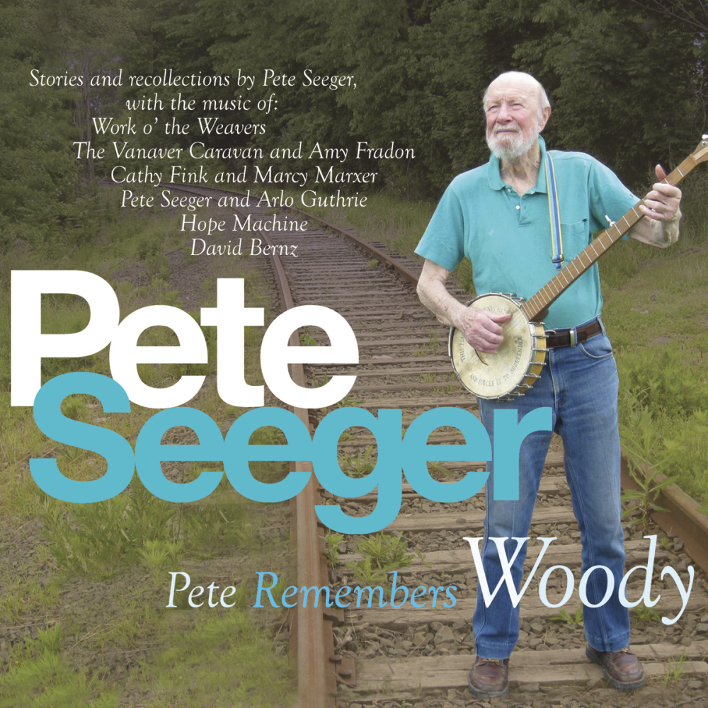 "This CD cover image released by Appleseed Recordings shows ""Pete Remembers Woody,"" one of Seeger's two releases on the label."
