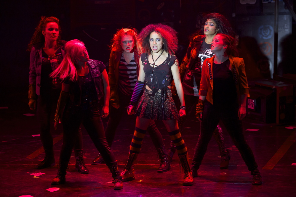 """Olivia Puckett (Whatsername) and the Ladies of """"American Idiot."""""""