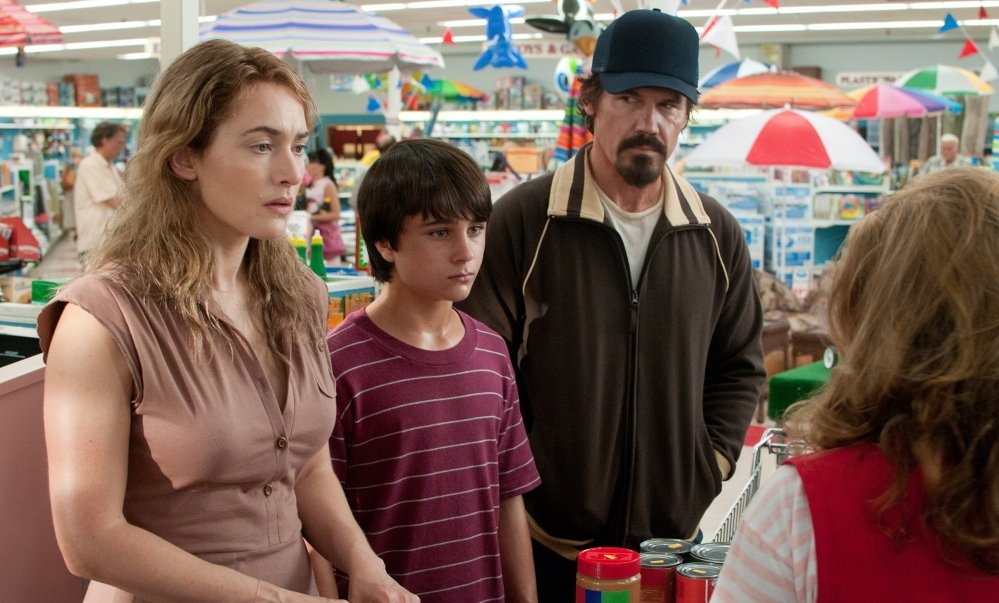 """Kate Winslet, Gattlin Griffith and Josh Brolin in """"Labor Day."""""""