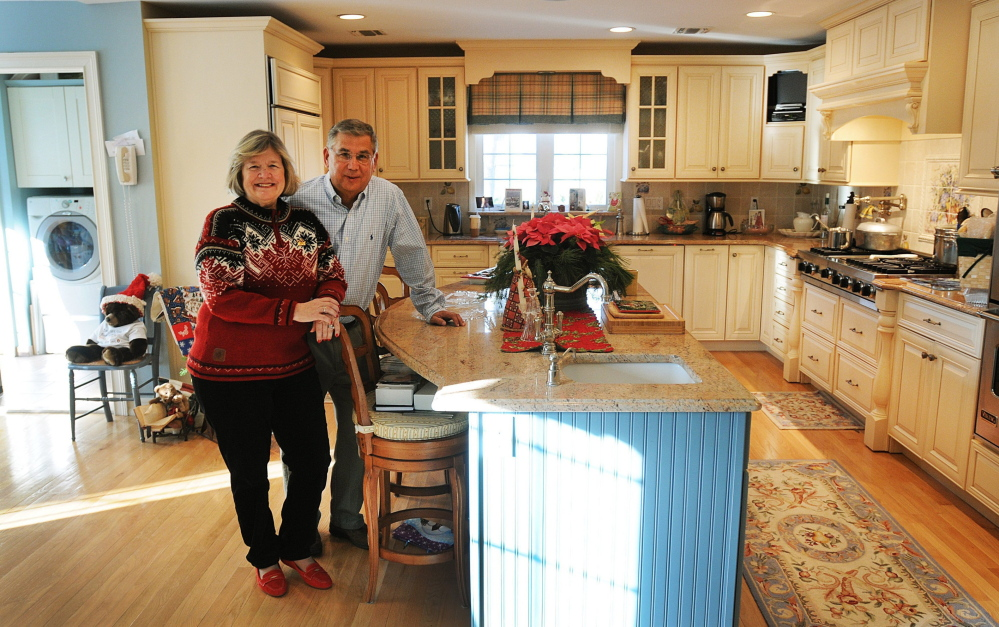 """When their kids moved out, Elizabeth and David Shanks decided to do a whole-house renovation rather than move to a new home that fit their needs. Their daughters opposed renovation – """"They wanted a shrine to their childhood,"""" David Shanks said. But it happened anyway."""