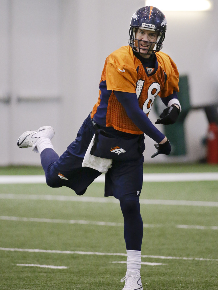 Peyton Manning of the Denver Broncos is the old-school pocket passer who has enjoyed an extraordinary season to continue what has been an extraordinary career. Peyton Manning of the Denver Broncos is the old-school pocket passer who has enjoyed an extraordinary season to continue what has been an extraordinary career.