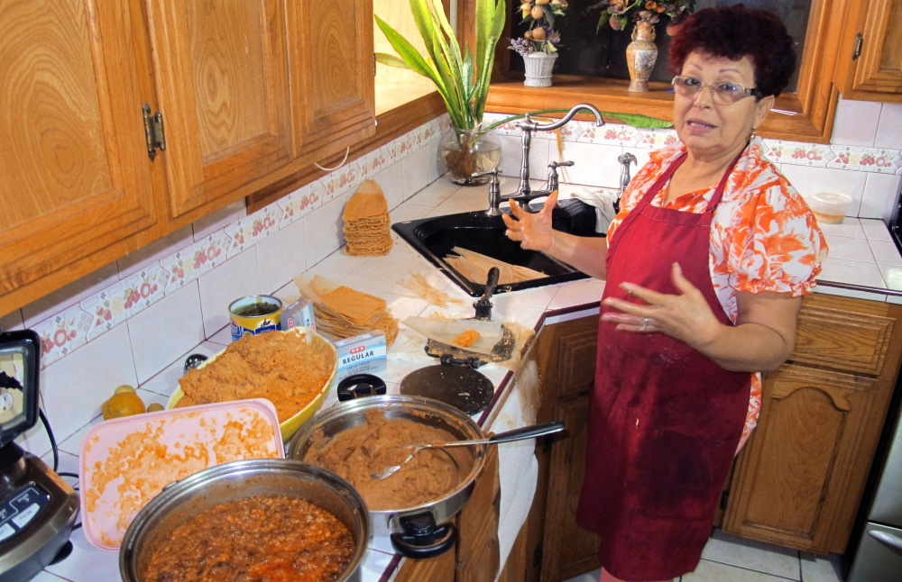 Hilda Vasquez of Edinburg, Texas, makes tamales to sell in South Texas offices. That's how she raised the $680 for her U.S. citizenship application. There's concern that comprehensive immigration reform proposals will make citizenship financial hurdles almost impassable.
