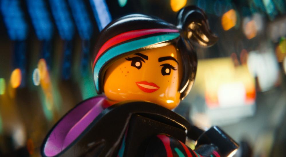 Wyldstyle, voiced by Elizabeth Banks