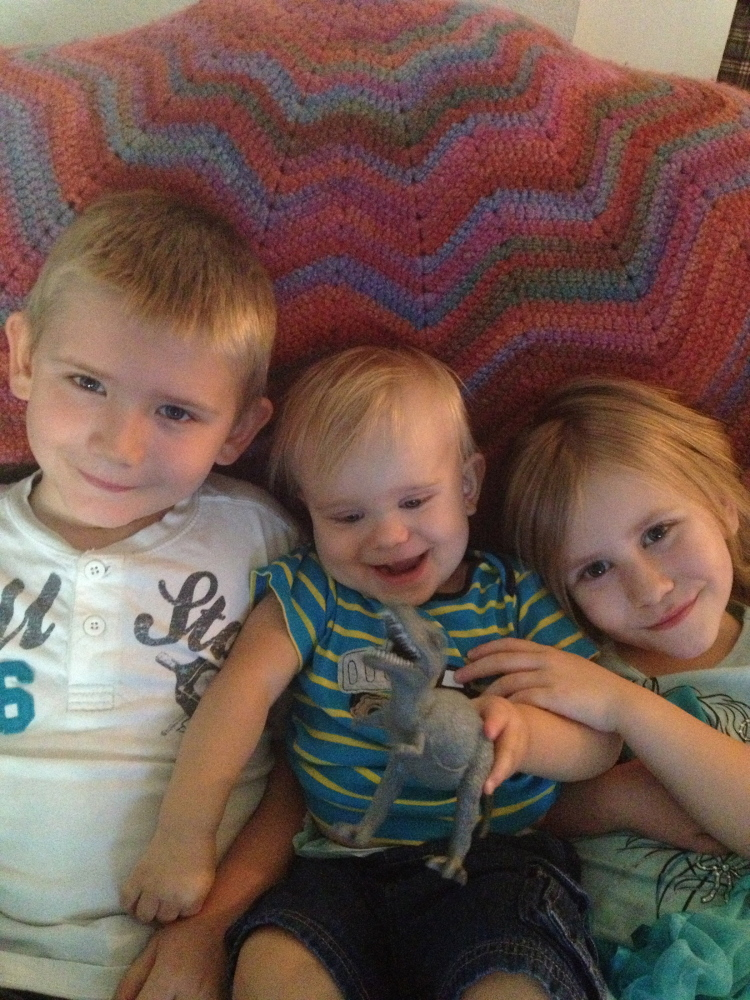 Noah Craten, center, of Glendale, Ariz., was hospitalized in October with an unshakable fever. An infection in his bloodstream caused abscesses on his brain. Tests showed he was infected with a strain of Salmonella Heidelberg.