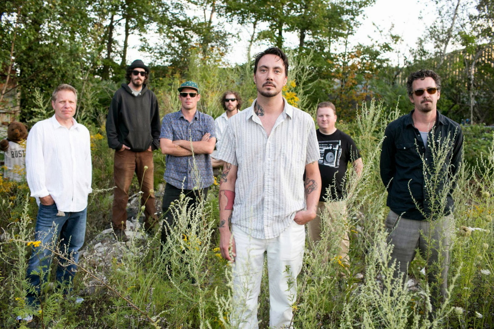 Veteran Maine rockers Rustic Overtones are at Trackside Station in Rockland on Friday.
