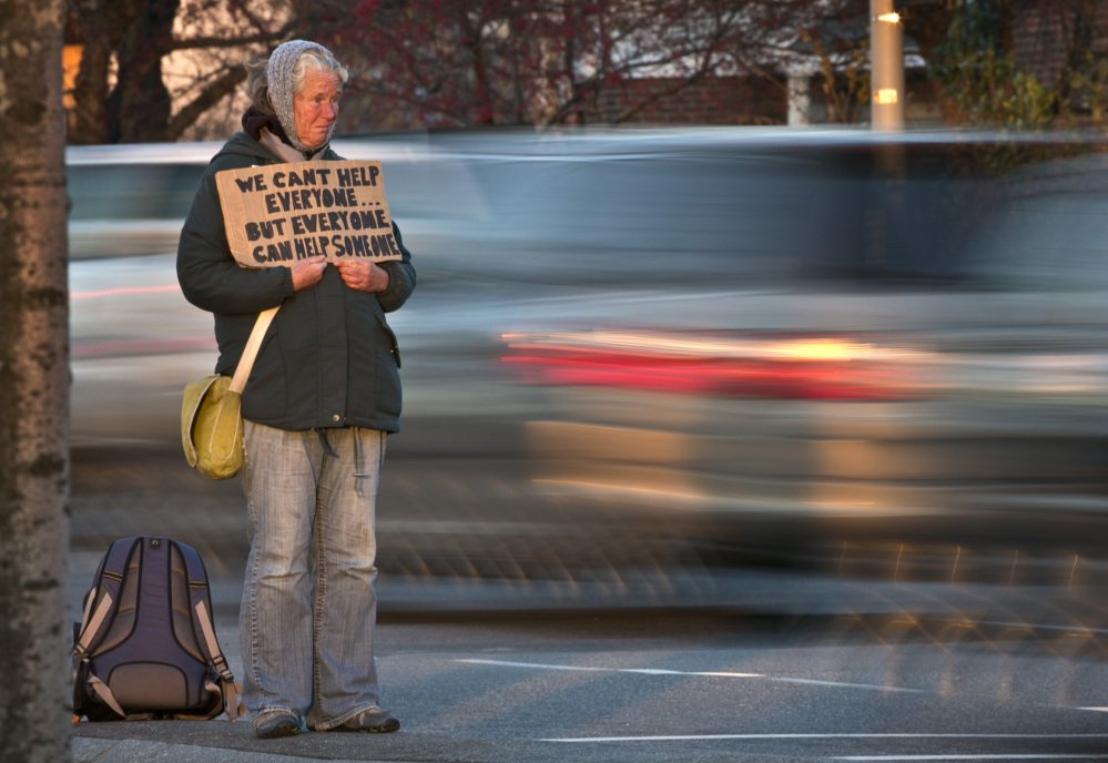 Moving panhandlers off the median strips did not fix any of the real problems of poverty in Portland, but neither does knocking down the ordinance that banned them. City leaders should keep working to address the real problems of homelessness and extreme poverty.