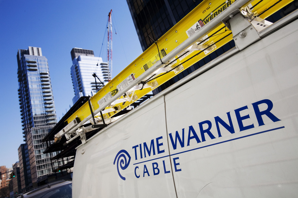 Comcast has agreed to buy Time Warner Cable for $45.2 billion in stock, or $158.82 per share, in a deal that would combine the top two cable TV companies in the nation.