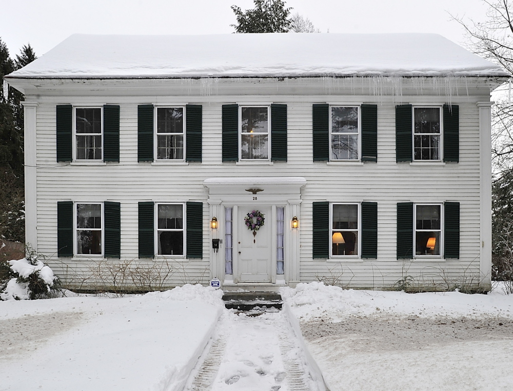 bowdoin college disputes that brunswick house for sale is