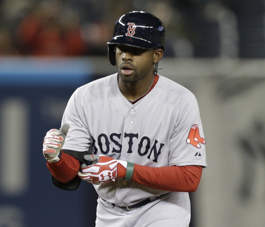Jackie Bradley Jr. will be counted upon to replace the team's biggest offseason loss – Jacoby Ellsbury.