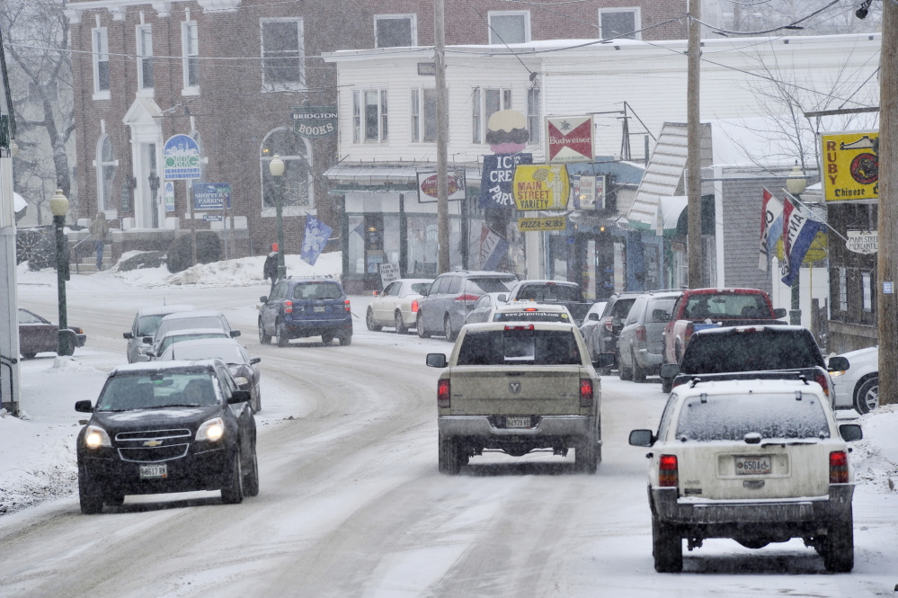 """Dentists are scarce in rural and small-town Maine, forcing people seeking dental care to drive long distances for care. Many choose to simply forgo routine procedures, says Tanya Van Rose-Bell, who lives in Bridgton, above. """"A lot of people here do not have good teeth,"""" she said."""